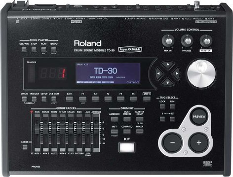 Roland TD30 Drum Sound Module for V-Pro Series V-Drums TD30-ROLAND