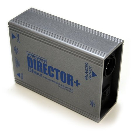 Whirlwind DIRECTOR+ Direct Boxwith DIMax Transformer DIRECTOR+