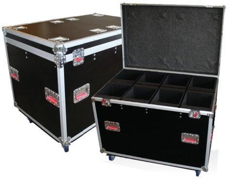 Gator Cases G-TOUR-LEKO-S4 Case For 8 Leko Style Light Fixtures G-TOUR-LEKO-S4