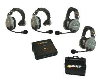Eartec Co COMSTAR-XT4 4-Person Wireless Intercom System COMSTAR-XT4