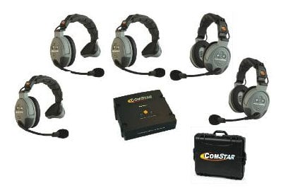 Eartec Co COMSTAR-XT5 5 Person Wireless Intercom System COMSTAR-XT5