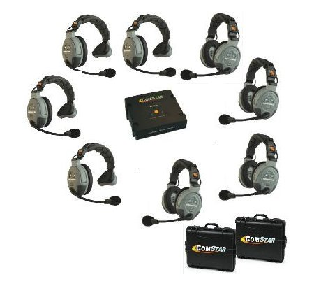 Eartec Co COMSTAR-XT8 8-Person Wireless Intercom System COMSTAR-XT8