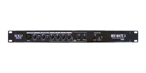 Rolls RM69 MixMate3 6-Channel Single-Space Rackmount Audio Mixer RM69