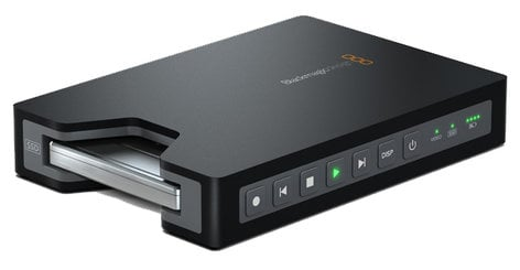 Blackmagic Design HyperDeck Shuttle 2 Portable SSD Video Recorder HYPERDECK-SHUTTLE-2