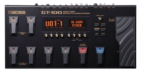 Boss GT100 Amp Simulator/ Multi-Effects Processor GT100