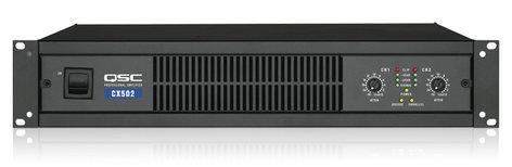 QSC CX502 2-Channel 300W @ 8 Ohms Power Amplifier CX502