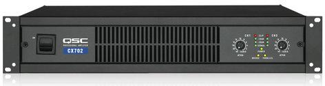 QSC CX702 2-Channel Power Amplifier, 425 Watts @ 8 ohms CX702