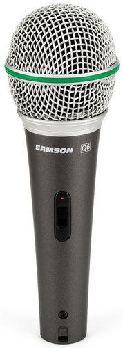 Samson Q6 Dynamic Supercardioid Handheld Microphone Q6-DYNAMIC-MIC