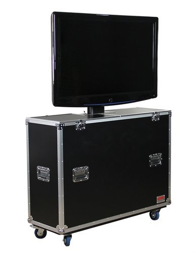 Gator Cases G-TOUR-ELIFT-47 ATA Wood Case with Electric Lift & Casters, for LCD & Plasma screens G-TOUR-ELIFT-47