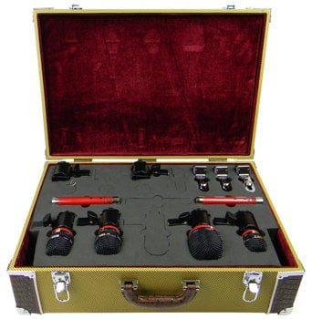 Avantone CDMK-6 Drum Mic Kit, 6 Mics, Tweed Case CDMK-6