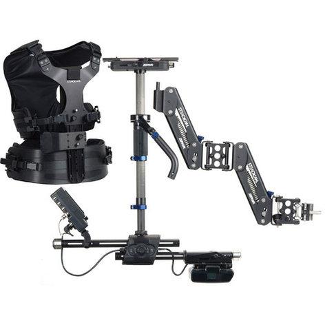 Steadicam ZEBXSDBCZZ Zephyr Standard System with Zephyr System: Sled/V-Mount/Arm/Compact Vest/Hard Case/Accessories ZEBXSDBCZZ