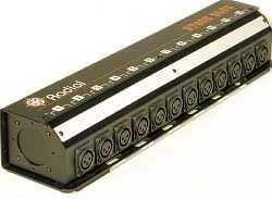 Radial Engineering R491-1240 25 ft. 12-Channel Stage Slug Snake with Multi-Pin CPC End R491-1240