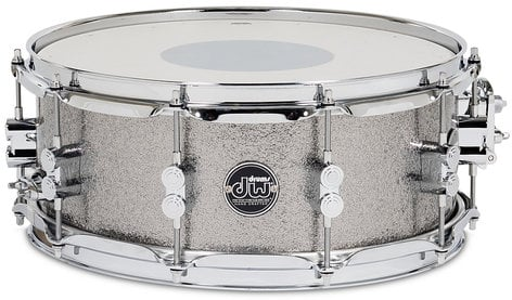 "DW DRPF5514SS 5.5"" x 14"" Performance Series HVX Snare Drum in FinishPly Finish DRPF5514SS"