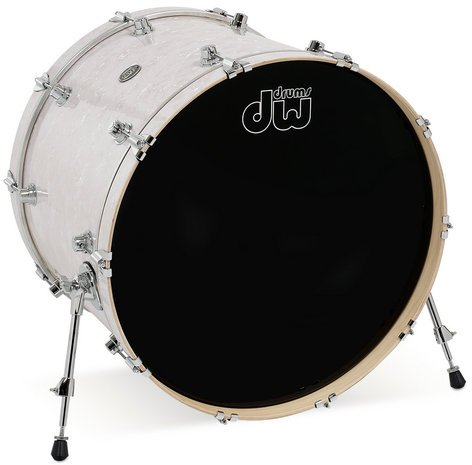 "DW DRPF1824KK 18"" x 24"" Performance Series HVX Bass Drum in FinishPly Finish DRPF1824KK"