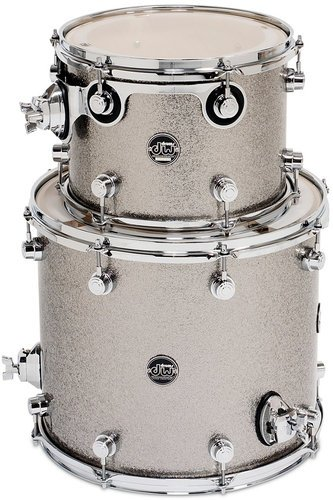 "DW DRPFTMPK02T Performance Series HVX Tom Pack 2T in Finish Ply Finish: 9""x12, 14""x16"" Toms DRPFTMPK02T"