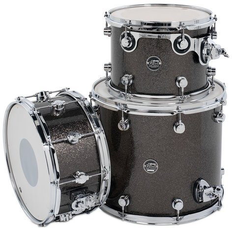 "DW DRPFTMPK03 Performance Series HVX Tom/Snare Pack 3 in FinishPly Finish: 9x12"", 14x16"" Toms, 6.5x14"" Snare Drum DRPFTMPK03"