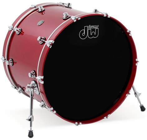 "DW DRPL1824KK 18"" x 24"" Performance Series HVX Bass Drum in Lacquer Finish DRPL1824KK"
