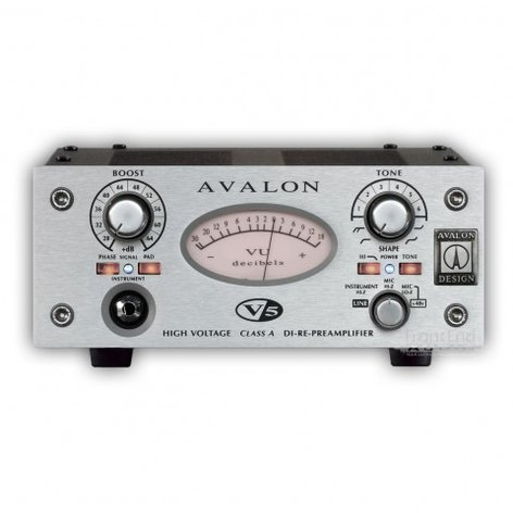Avalon V5-AVALON Preamp, DI-Re-Mic, Class-A V5-AVALON