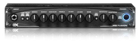 Gallien-Krueger MB-FUSION-500 500W Hybrid Bass Amplifier Head MB-FUSION-500
