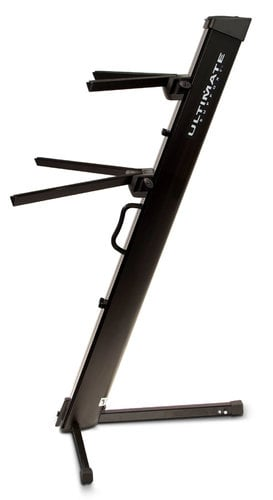 Ultimate Support AX-48 PRO Two-Tier Column Keyboard Stand in Black AX48PRO