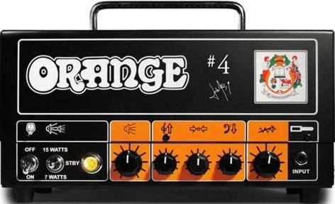 Orange Amplification #4 Jim Root Signature Head 15W Tube Guitar Amplifier Head TT15JR