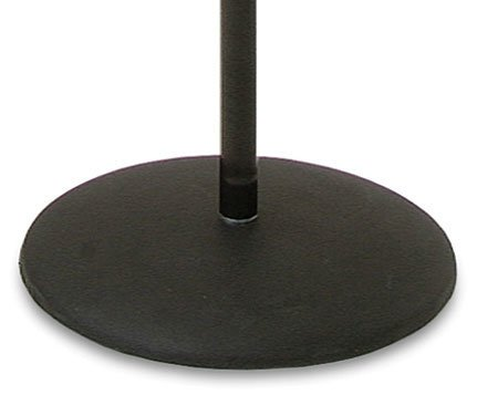 Ultimate Support MC-05B Microphone Stand with Quick-Release Clutch and Weighted Round Base MC05B