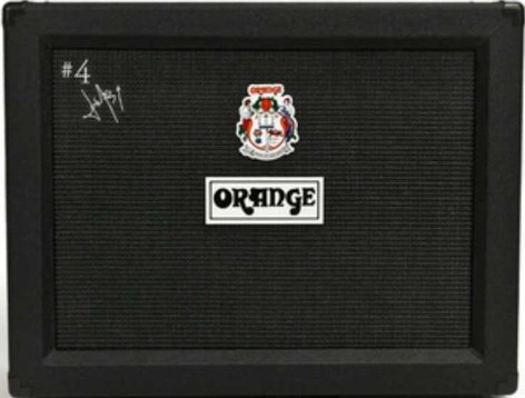 "Orange Amplification PPC212JR 2x12"" 120W #4 Jim Root Signature Closed-Back Guitar Speaker Cabinet with Orange Voice Of The World® Speakers in Black PPC212JR"