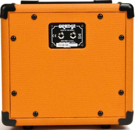 "Orange Amplification PPC108 1x 8"" 20W Closed-Back Guitar Speaker Cabinet PPC108"