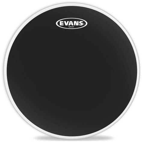 "Evans TT10HBG 10"" Hydraulic Drum Head in Black TT10HBG"
