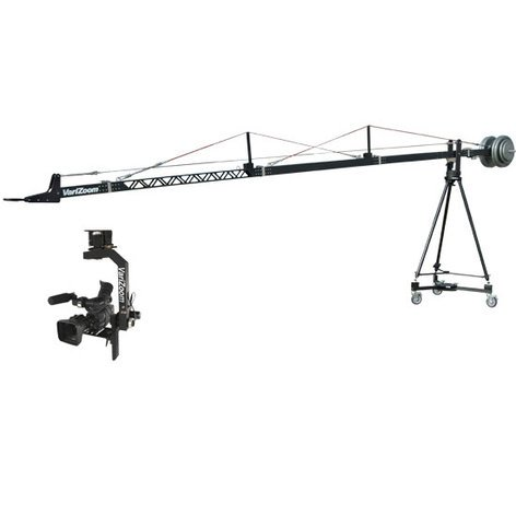 Varizoom VZ-SNAPCRANE16 Film & Video Crane with Tripod & Dolly VZ-SNAPCRANE16