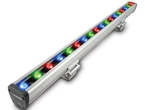 "Philips Color Kinetics 316-000002-09 Vaya 13"" W Linear Color LED Fixture with 10°x50° Beam 316-000002-09"