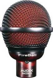 Audix FIREBALL Dynamic Cardioid Harmonica Microphone FIREBALL