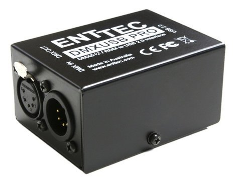 Enttec DMX USB Pro USB To DMX Interface With Isolation