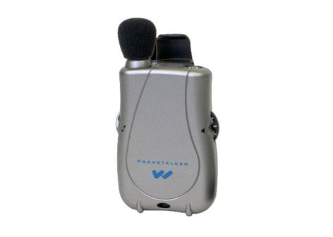 Williams Sound PKT-D1-H26 Pocket Talker System with the Wideragen HED 026 Headphone PKT-D1-H26