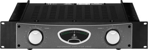 Behringer A500 Reference Power Amplifier, Stereo, 300W per Channel @ 4 Ohms A500