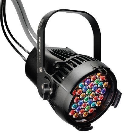 ETC/Elec Theatre Controls SELD40VO-0X Selador Desire D40XT Vivid LED in Black, Exterior Connector SELD40VO-0X