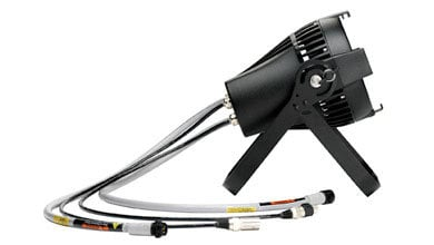 ETC/Elec Theatre Controls SELD40LO-0X Selador Desire D40XT Lustr+ LED in Black, Exterior Connector SELD40LO-0X