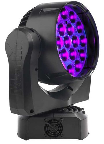 Martin Professional Mac Aura Compact LED Moving Head MAC-AURA-BLACK-CASE