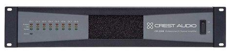 Crest CM2208 Power Amplifier, 220 Watts @ 8 ohms/70V, 8 Channels CM2208