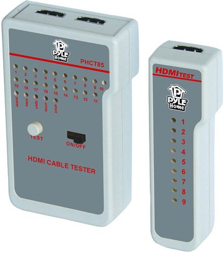 Pyle Pro PHCT85  HDMI High-Definition Cable Tester PHCT85