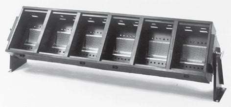 Altman GC-4-4 Ground Cyc, 4 Section, 4 Circuit Multi-Lamp GC-4-4