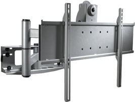 "Peerless PLA50-UNLP Black Articulating Arm for 32""-65"" Flat Panel Displays with Universal Adapter Plate PLA50-UNLP"