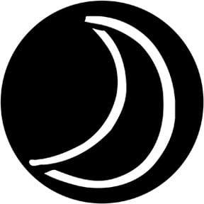 Rosco Laboratories 78168 Child Moon Gobo 78168
