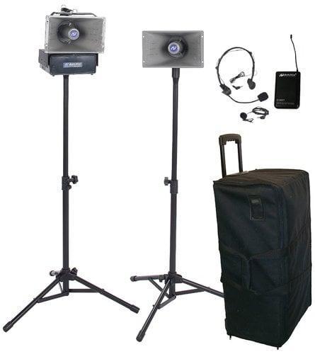 AmpliVox SW630 Wireless Half Mile Hailer Kit SW630