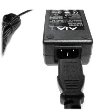 AJA Video Systems Inc KI-IOX-ACADPT-R0 Power Adapter, 120/240 AC to 12V DC, 4-Pin XLR KI-IOX-ACADPT-R0