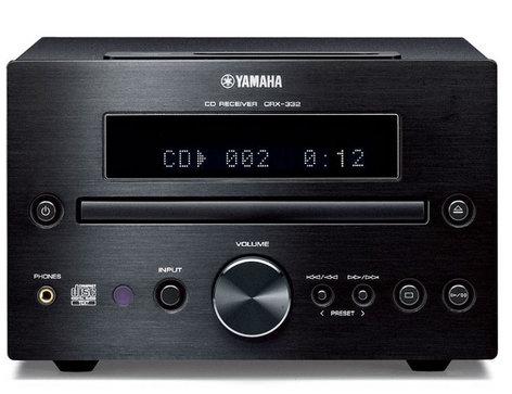 Yamaha CRX-332BL Micro Component Receiver/CD Player CRX-332BL