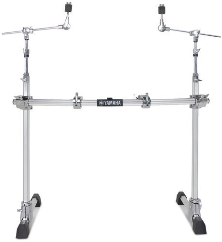Yamaha HXR2LCHII 2-Leg HEXRACKII Drum Rack with Curved Pipe and 2x CH-755 Boom Arms HXR2LCHII