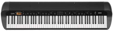 Korg SV-1BK 88-Key Black Stage Vintage Piano SV188BK