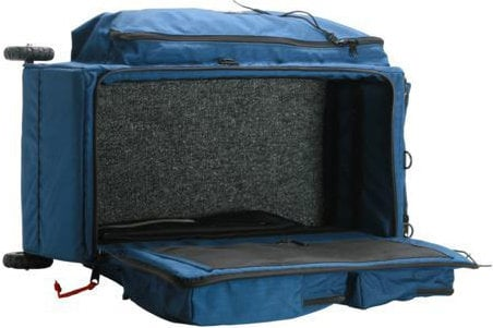 Porta-Brace WPC-2OR Blue Wheeled Production Case with Off-Road Wheels WPC-2OR