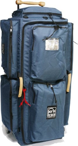 Porta-Brace WPC-3OR Blue Wheeled Production Case WPC-3OR